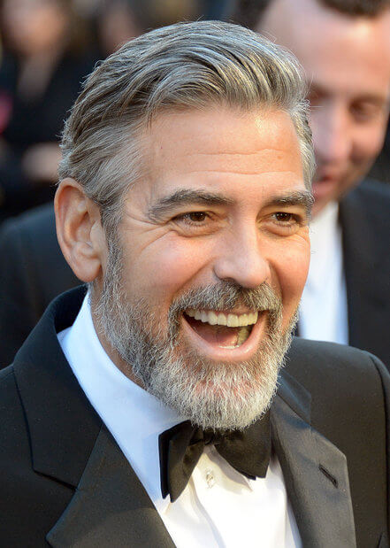 Szakáll trend - George Clooney