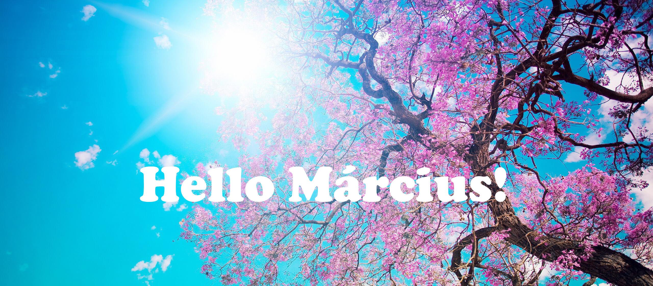 Hello március! | Igényesférfi.hu online férfi életmód magazin