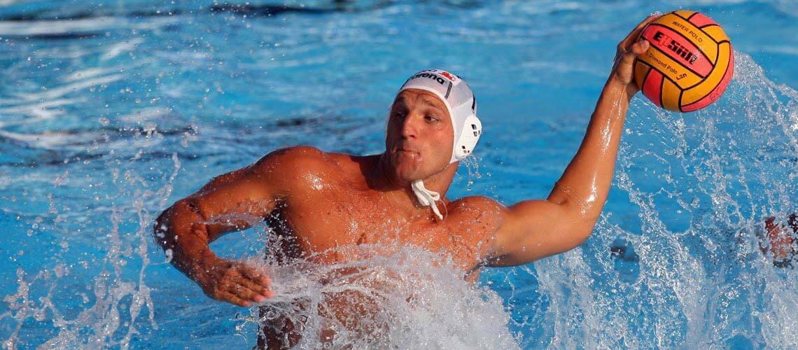 Kiss Gergely olimpiai bajnok vízilabdázó