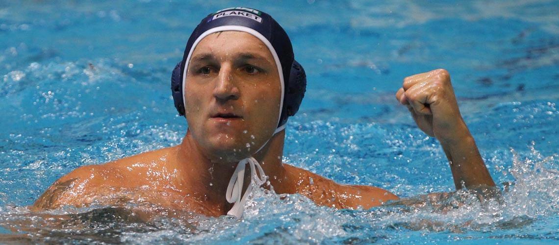 Kiss Gergő olimpiai bajnok vízilabdázó