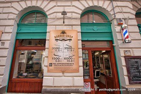 Budapest Barber Shop - szalon