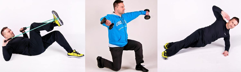 Gyakorlatok szabadtéri edzéshez
