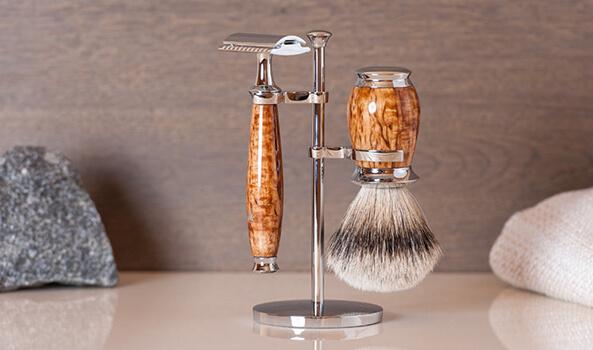 Mühle borotva, borotválkozás