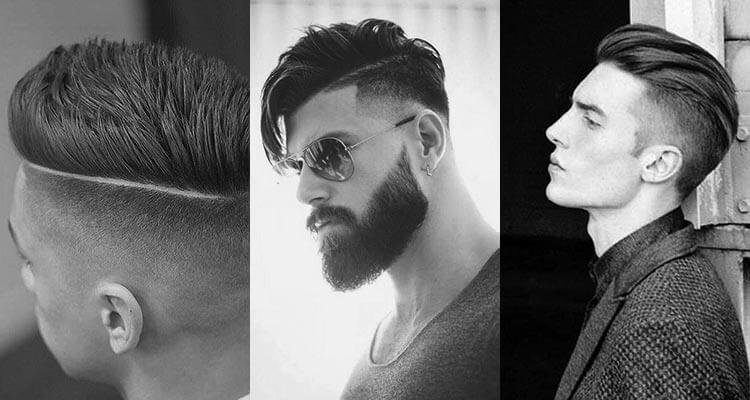 átmenet nélküli férfi frizura
