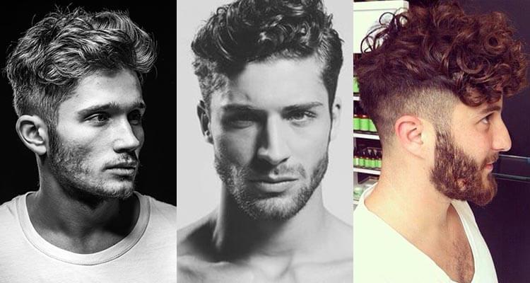Göndör férfi haj