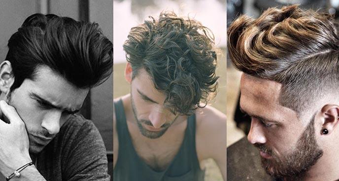 férfi hajtrend - quiff frizura