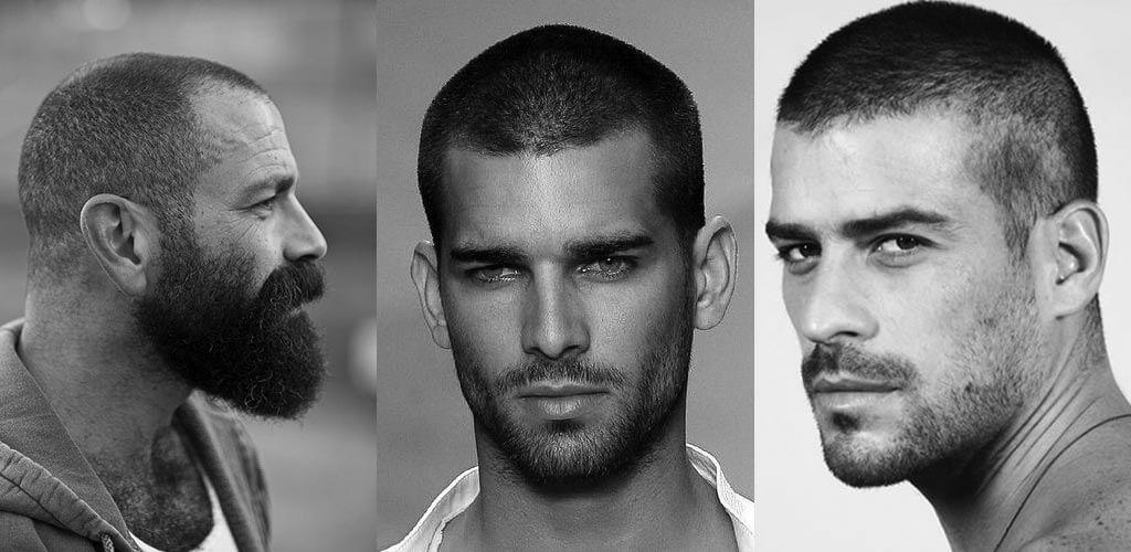 férfi frizura - katonai stílus