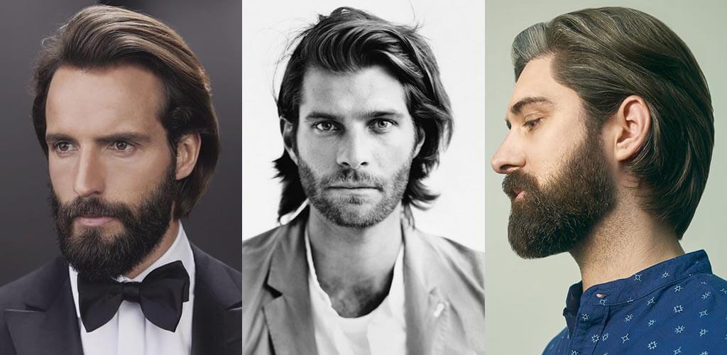 félhosszú férfi frizura