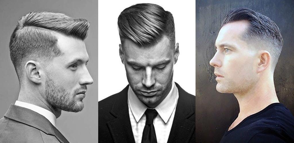 kopaszodás - férfi frizura