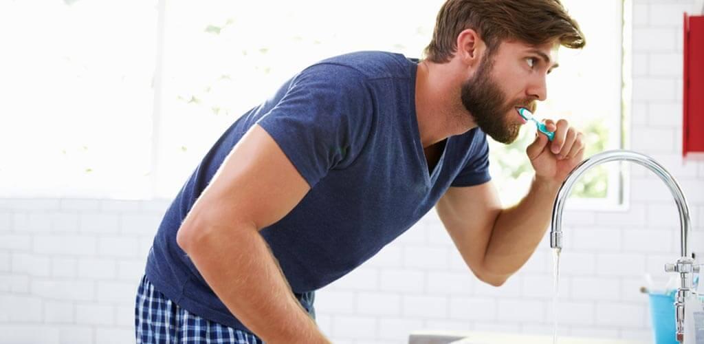 férfi szájápolás
