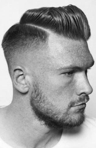 férfi frizura - modern pompadour