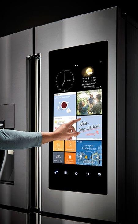 smart home - okosotthon - hűtő