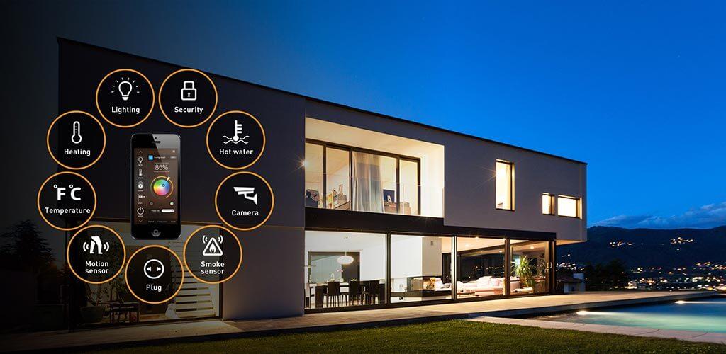 smart home - intelligens otthon - okosotthon - design