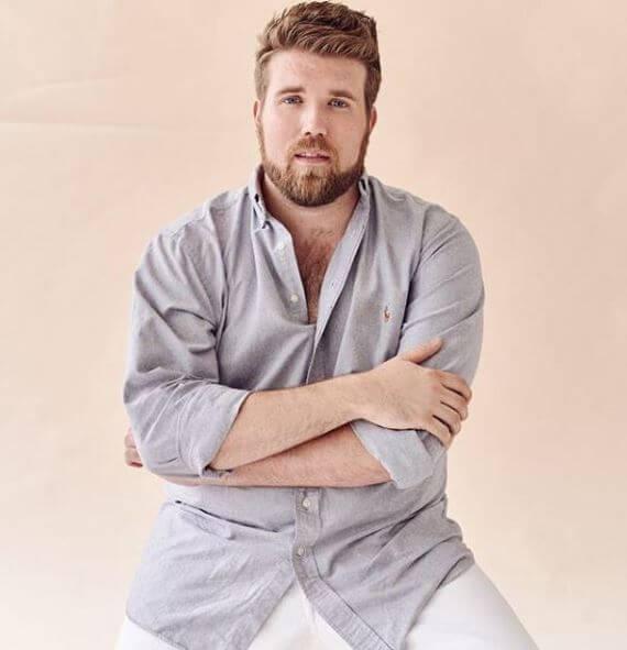 Zach Miko - férfi stílus - plus size - férfi divat