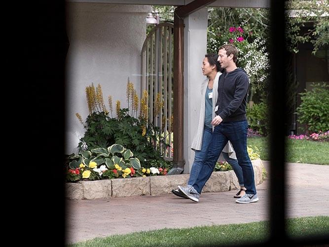 mark zuckerberg - férfi cipő