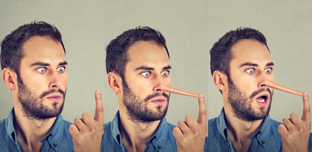 hazugság - testbeszéd - férfimagazin
