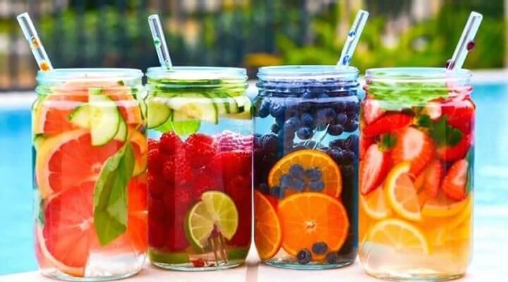 kánikula - gyümölcs - víz - férfimagazin