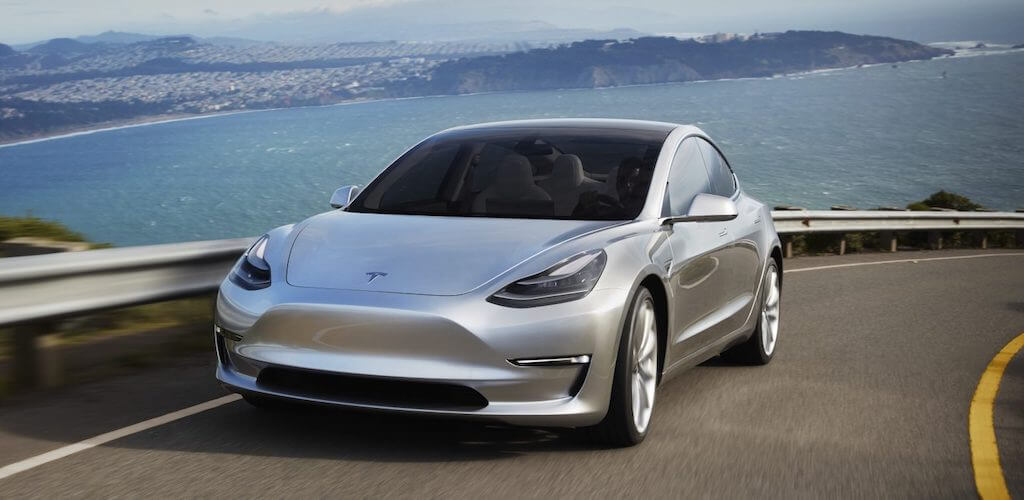 Tesla Model 3 - Tesla - Elon Musk