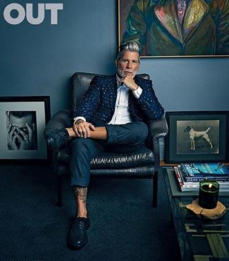 Nick Wooster - férfi divat - férfi magazin
