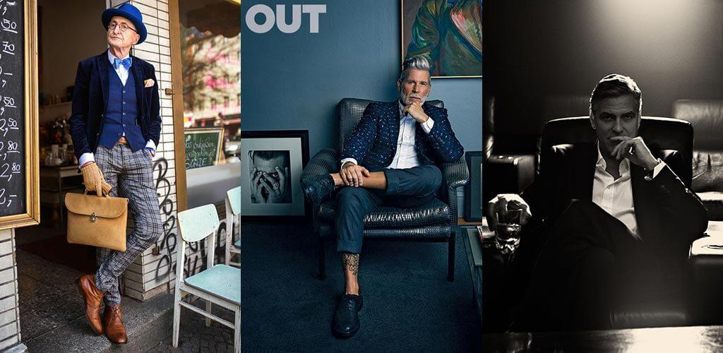 férfi divat - a stílus nem kor kérdése