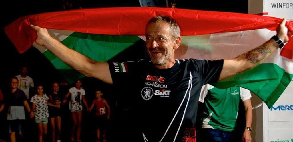 Szőnyi Ferenc - győzelem - triatlon - Ironman