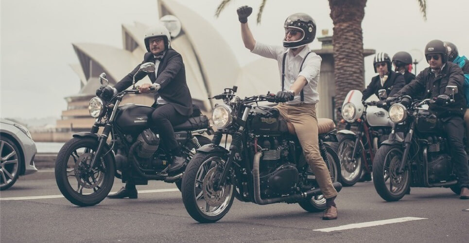 The Distinguished Gentleman's Ride - prosztatarák - férfimagazin