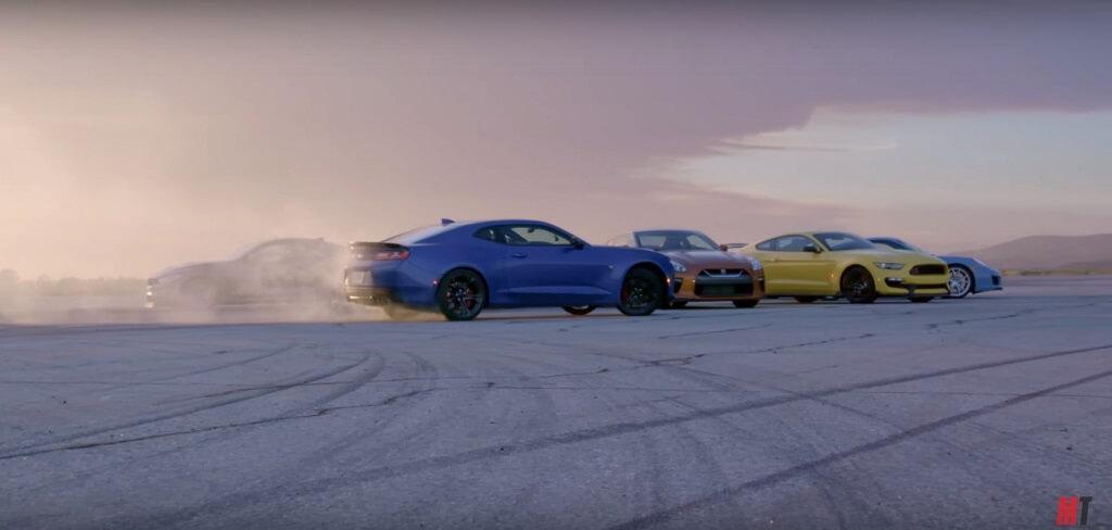 Tesla - férfimagazin - gyorsulási verseny