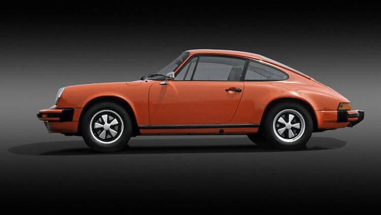 Porsche - Porsche 911 Carrera 2.7 Coupé, 1973. - férfimagazin