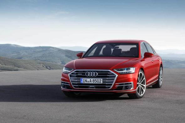 Audi A8 - év autója - férfimagazin