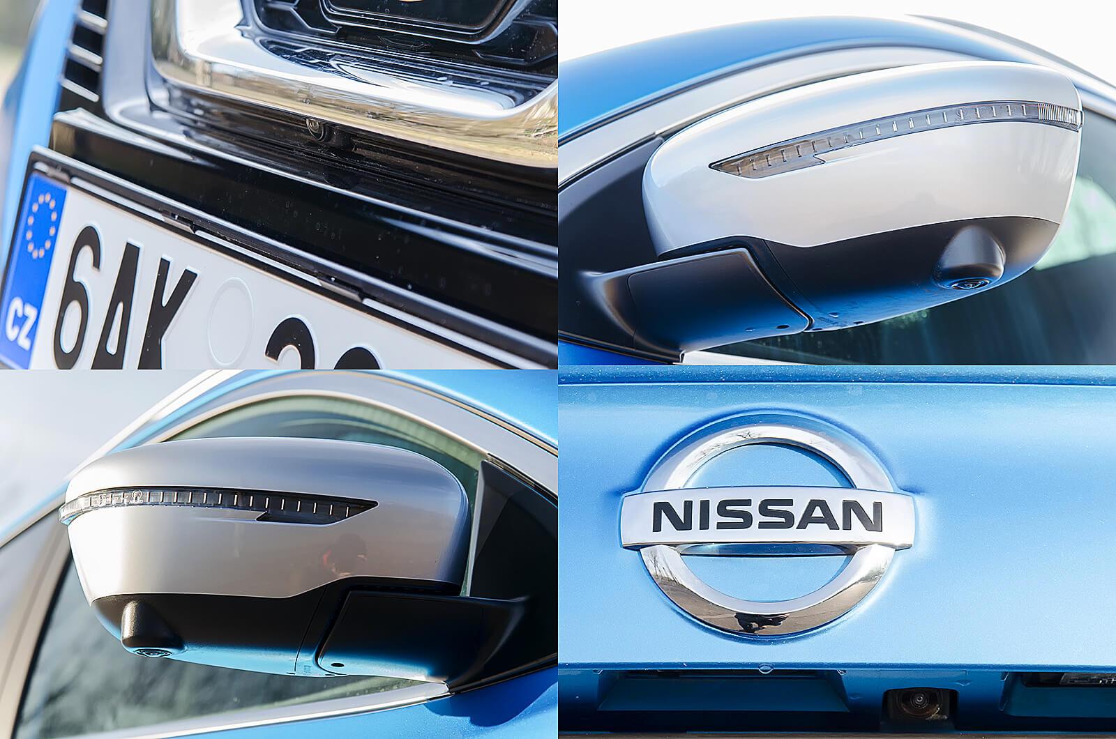 Nissan Qashqai kamerák - teszt - férfimagazin