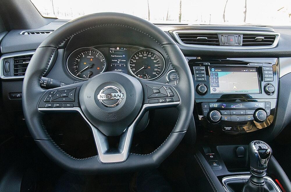 Nissan Qashqai vélemény - férfimagazin - Qashqai teszt