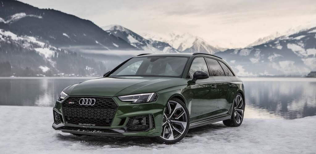 Audi - Audi RS4 -Sonoma green - férfimagazin