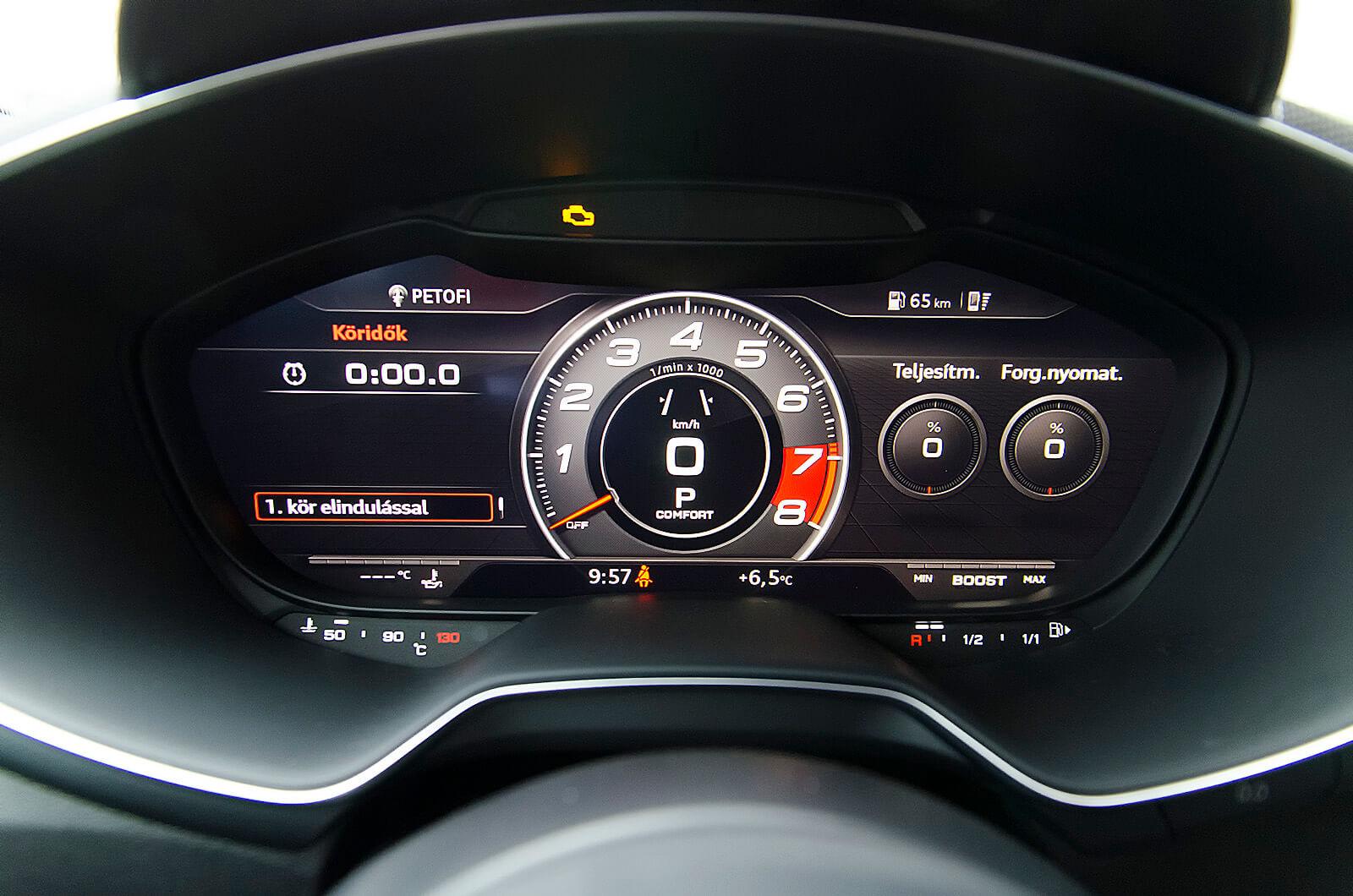 Audi TTRS - vélemény - férfimagazin - teszt