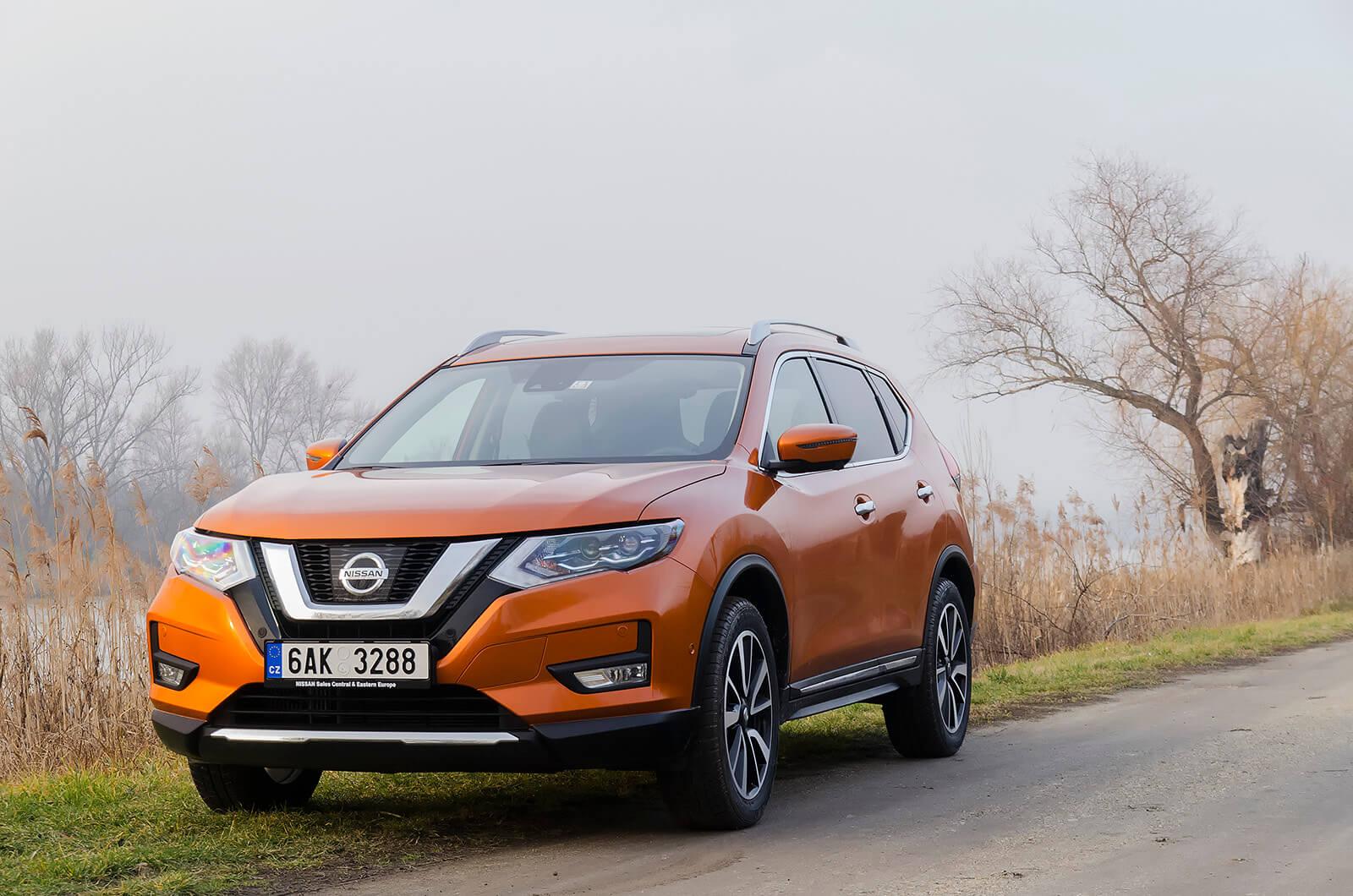 Nissan - Nissan X-trail - Nissan teszt - férfimagazin