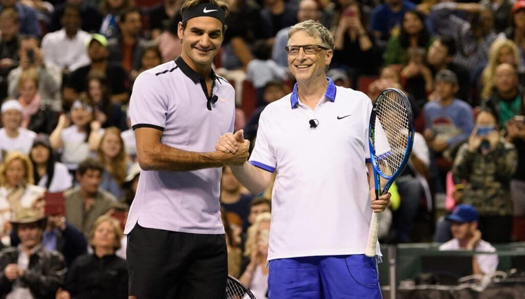 Roger Federer - Bill Gates - férfimagazin