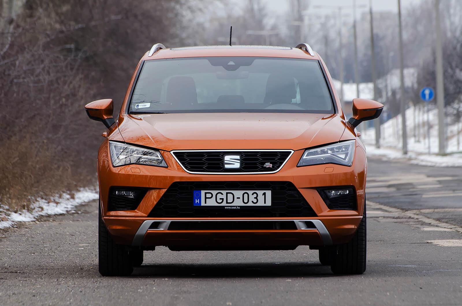 Seat Ateca - Seat - SUV - autó teszt