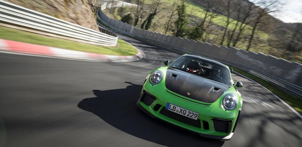 Porsche 911 GT3 RS: 7 másodperc alatt a Nürburgringen