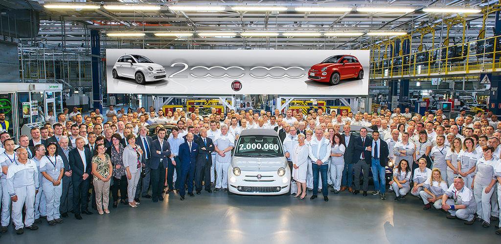 Elkészült a kétmilliomodik Fiat 500