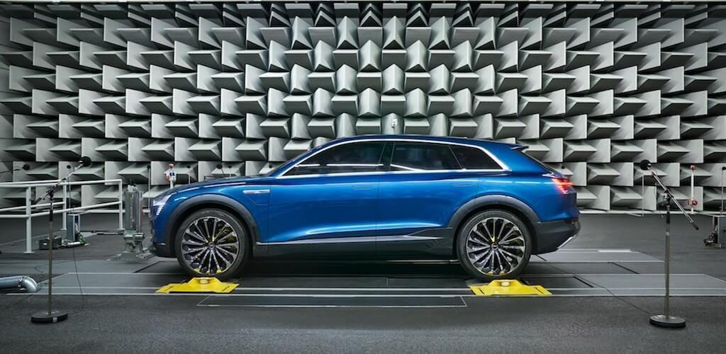 Audi e-tron sound laboratory