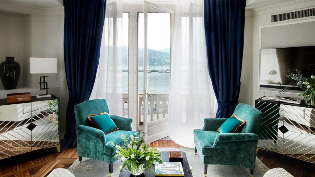 Comói-tó - luxus - hotel
