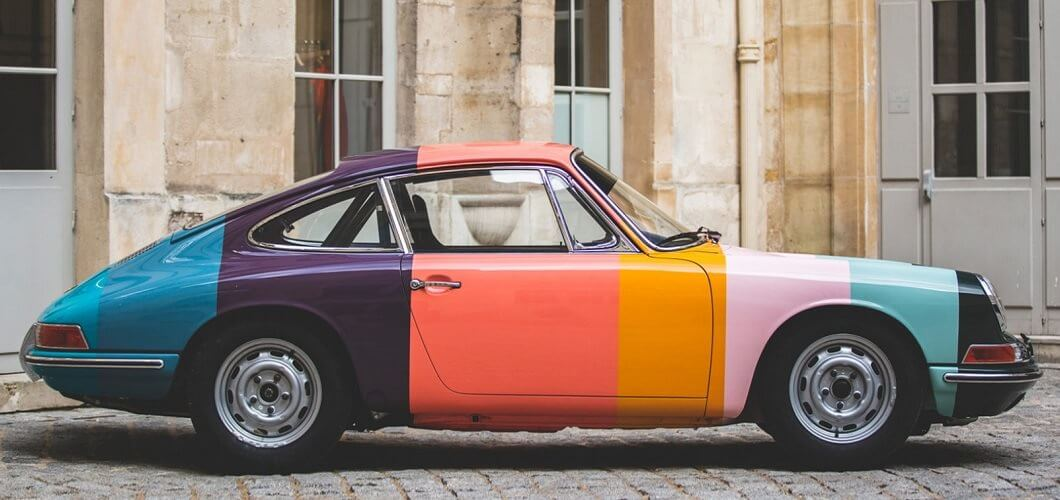 Porsche - Paul Smith - design