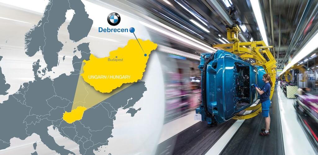 Debrecenben épül az új BMW gyár