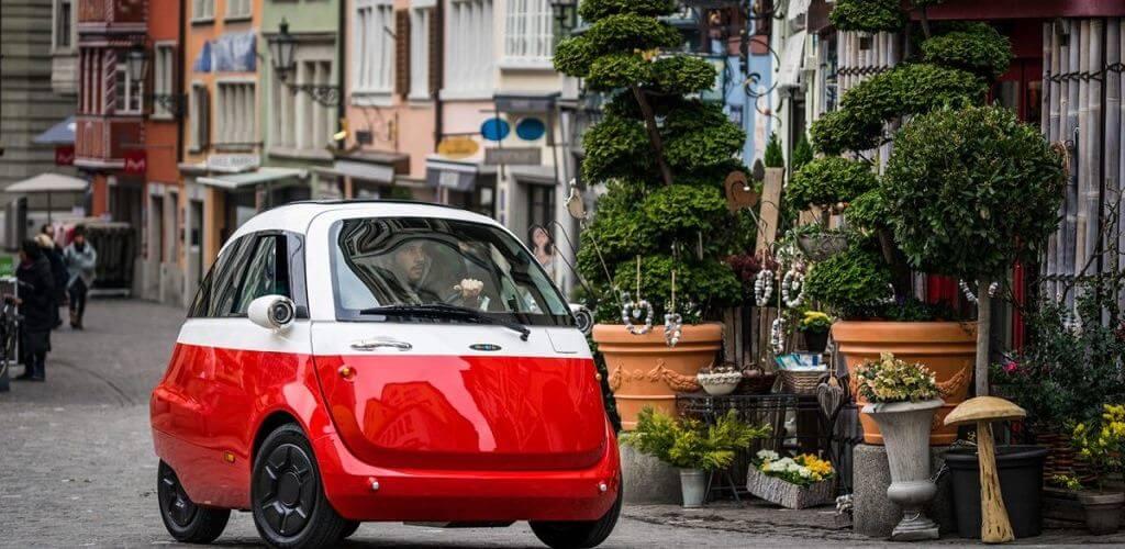 microlino - elektromos autó
