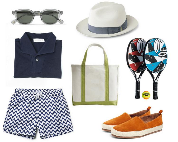 strand - férfi divat