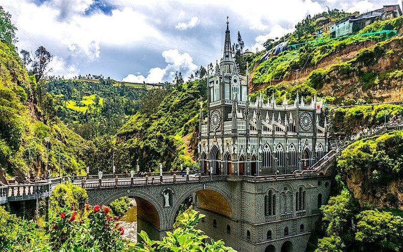 Las Lajas bazilika, Kolumbia