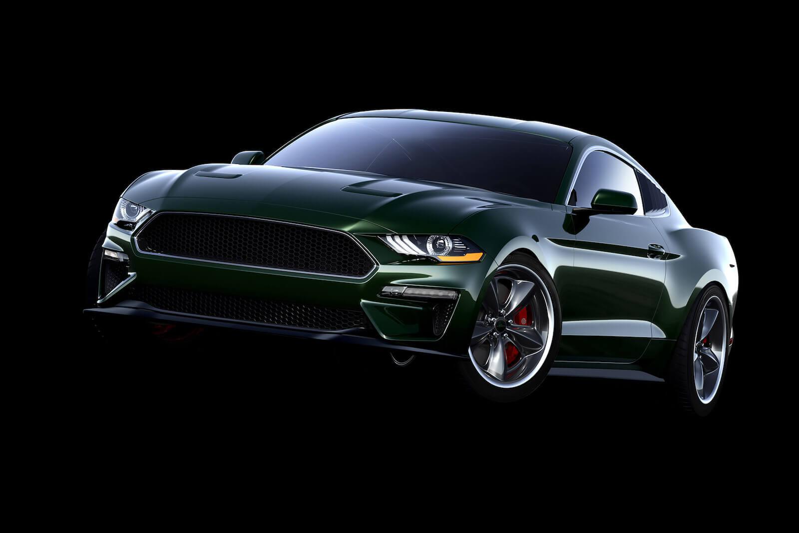 Steeda Steve McQueen Edition Bullitt Mustang