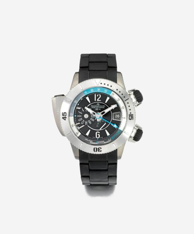 férfi óra - Jaeger LeCoultre Titanium Diving Pro Geo Master Compressor (2008)