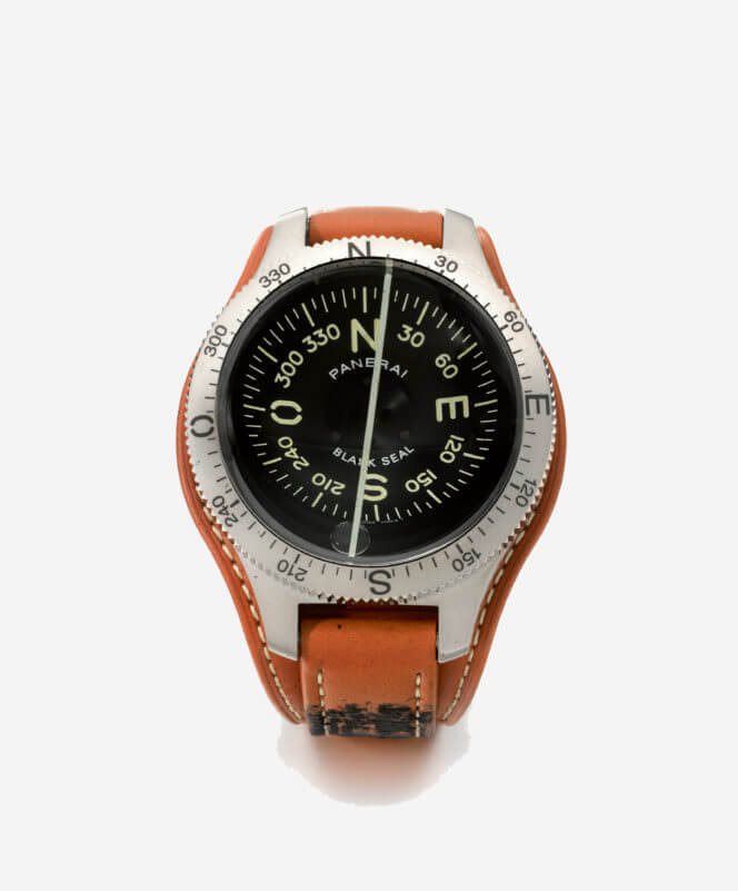 férfi óra - Panerai Limited Edition Titanium Divers Compass (2004)