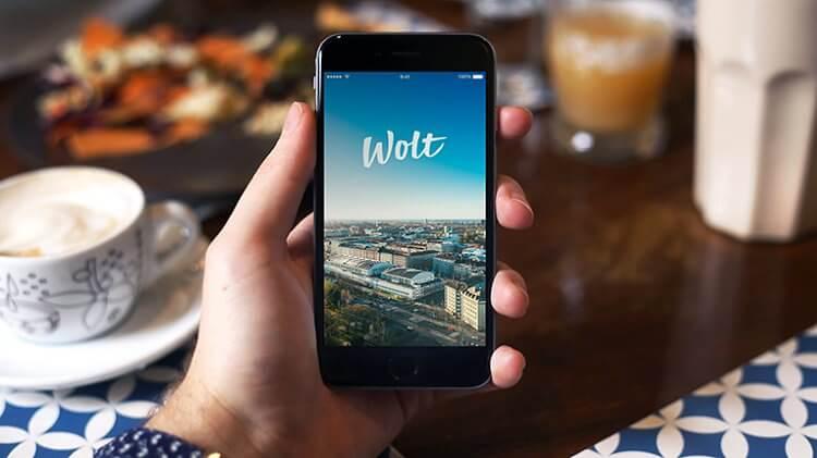 Wolt - applikáció - ételrendelés