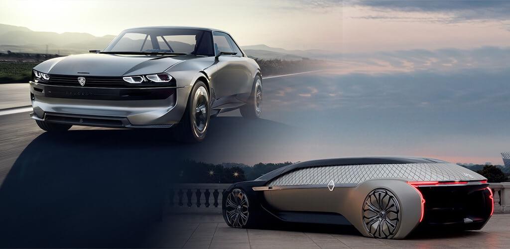 Francia futurizmus, avagy így képzeli a Peugeot és a Renault az autózás jövőjét